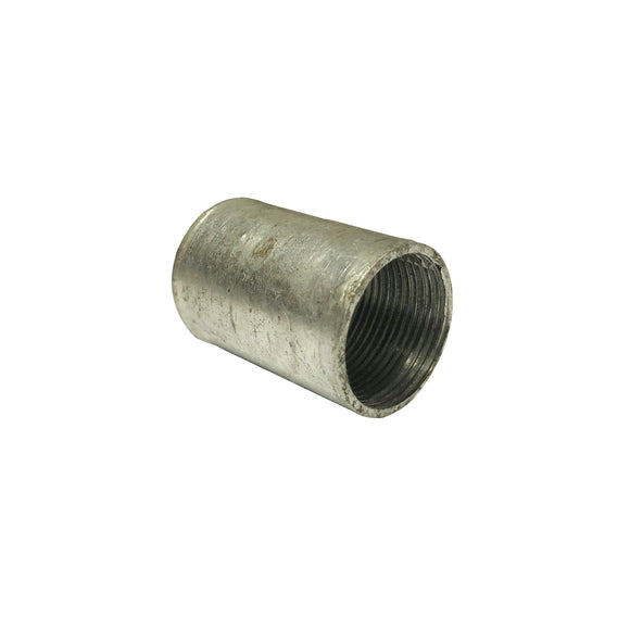 25mm Galvanised Solid Coupler (25SCG)
