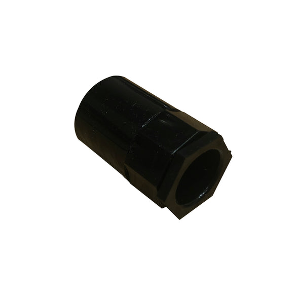 20mm PVC Conduit Female Adaptor with Male Bush - Black (20FAPB)