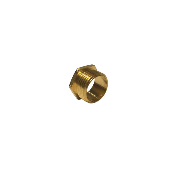 20mm Short Male Brass Bush (20MBAS)