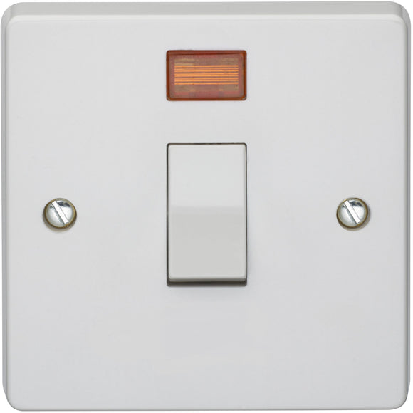 Crabtree 20A DP Control Switch with Neon (4015/3) - BBEW