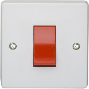 Crabtree 45A Double Pole Switch (4016) - BBEW