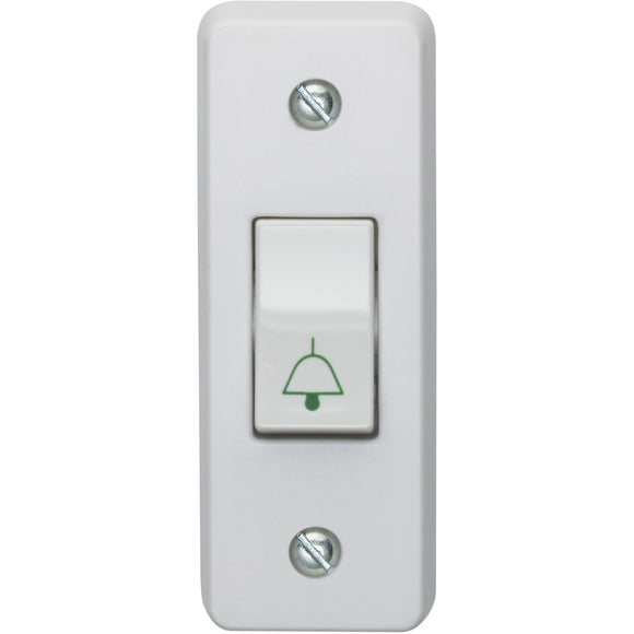 Crabtree 10A 1 Gang 2 Way Architrave Switch (4097/B) - BBEW