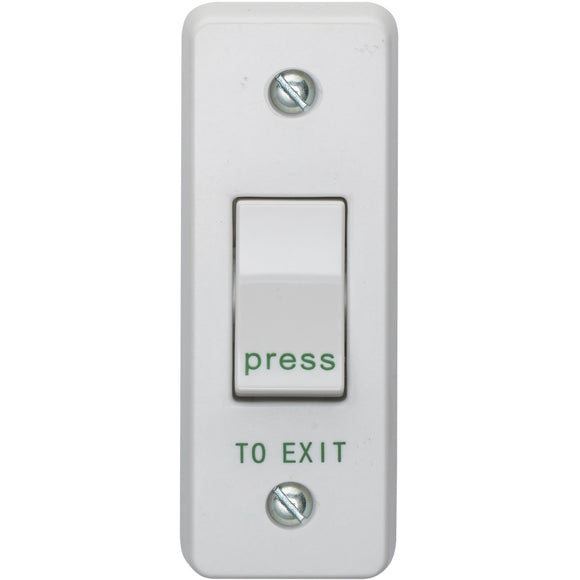 Crabtree 10A 1 Gang 2 Way Architrave Switch (4097/P) - BBEW