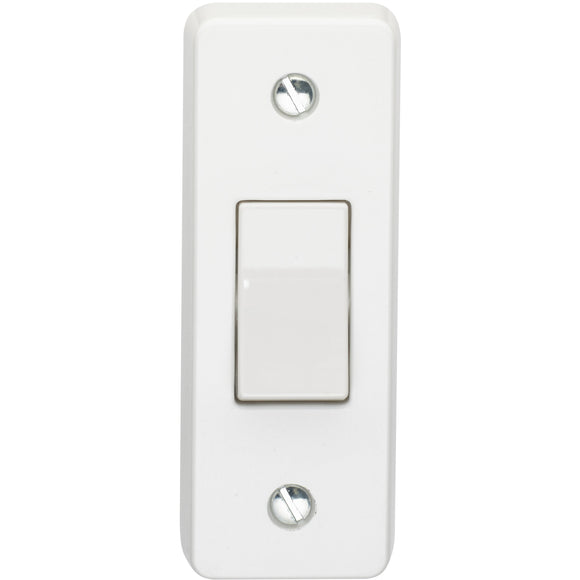 Crabtree 10A 1 Gang 2 Way Architrave Switch (4177) - BBEW