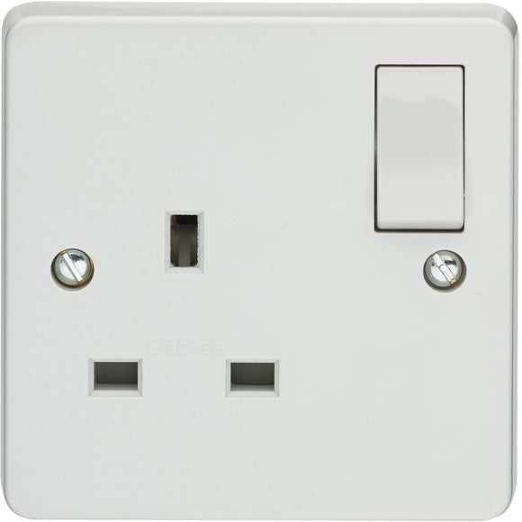 Crabtree SP 1 Gang Socket (4304) - BBEW