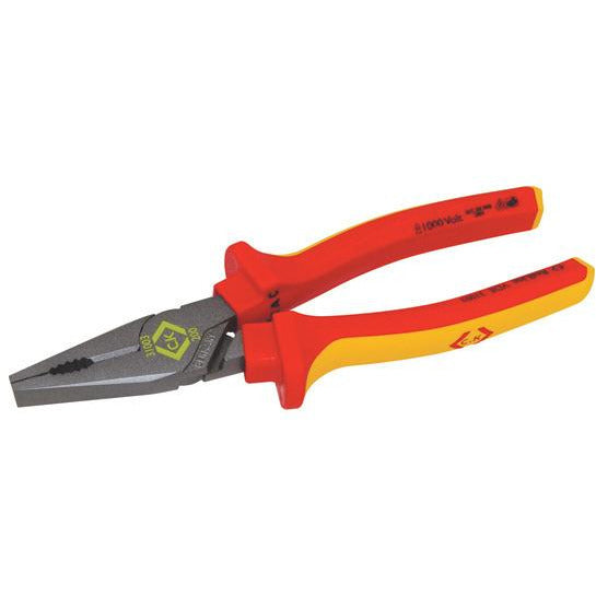 CK Tools VDE Combination Pliers - 205mm (431003)