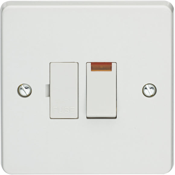 Crabtree 13A Switched Fused Connection Unit DP with Neon (4827/3) - BBEW