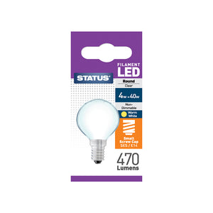 Status 4W LED Pearl Golf - E14-SES - Warm White (2700K) - (4SFRSESP1PKB8)