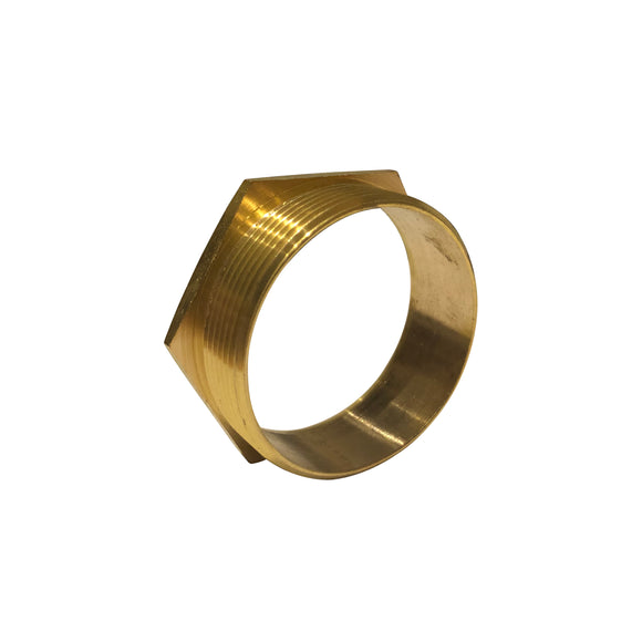 50mm Short Male Brass Bush (50MBAS)