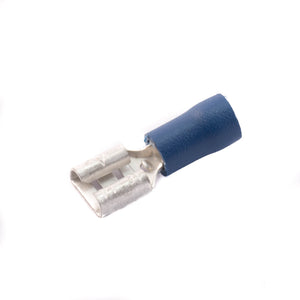 SWA 6.3mm Blue Female Push-on Terminal Crimp - Pack of 100 (63BFP)