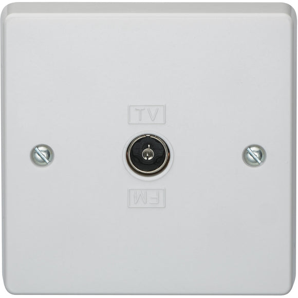 Crabtree Coaxial Socket Outlet (7265) - BBEW