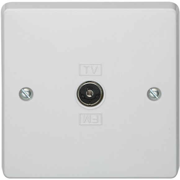 Crabtree Coaxial Socket Outlet - Isolated (7267) - BBEW