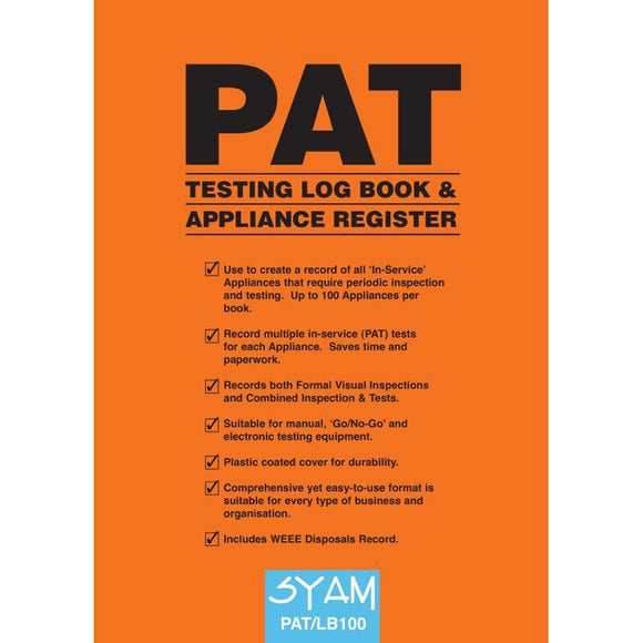 SYAM PAT Testing Log Book