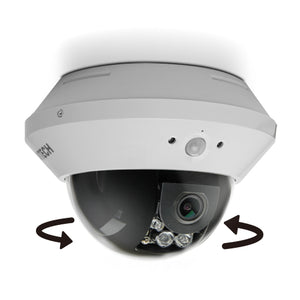 Avtech 2MP Panning Fixed Lens Dome Camera (AVT1303) - BBEW