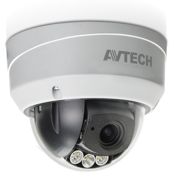 Avtech 2MP Anti-Vandal Motorised Dome Camera (AVT543) - BBEW