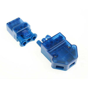Click Flow 20A 3 Pole Connector (Screw Cable Clamps) (With Loop) (CT102C)