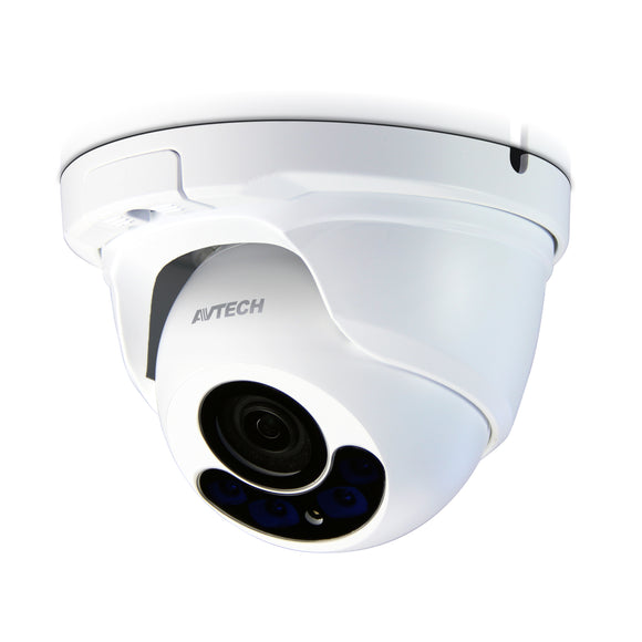 Avtech 2MP Motorised Dome Camera (DGC1304) - BBEW