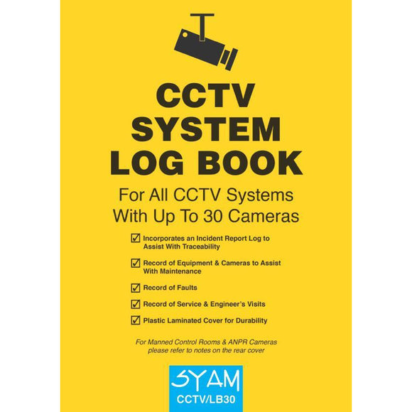 SYAM CCTV System Log Book