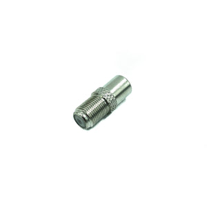 Female F Plug To Male Coax (10 PCS)