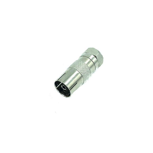 F Plug To Female Coax (10 PCS)