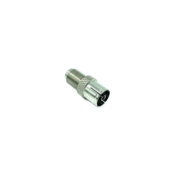 Female F Plug To Female Coax (10 PCS)