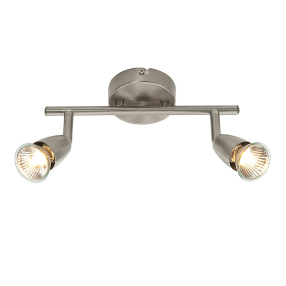 Saxby Amalfi 2lt bar - Satin Nickel (G2521313) - BBEW