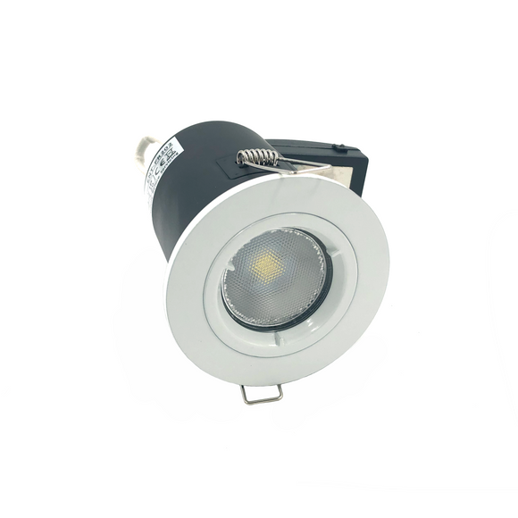 Fixed Fire-rated Downlight 230-240V (Twist Lock) - White