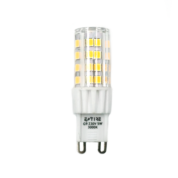 Entire 5W G9 Capsule LED 450lm - 3000K
