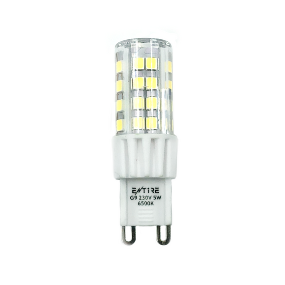 Entire 5W G9 Capsule LED 450lm - 6500K