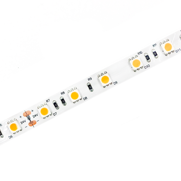 Entire 24V 5M Flexible LED Strip Kit IP20 - 2200K