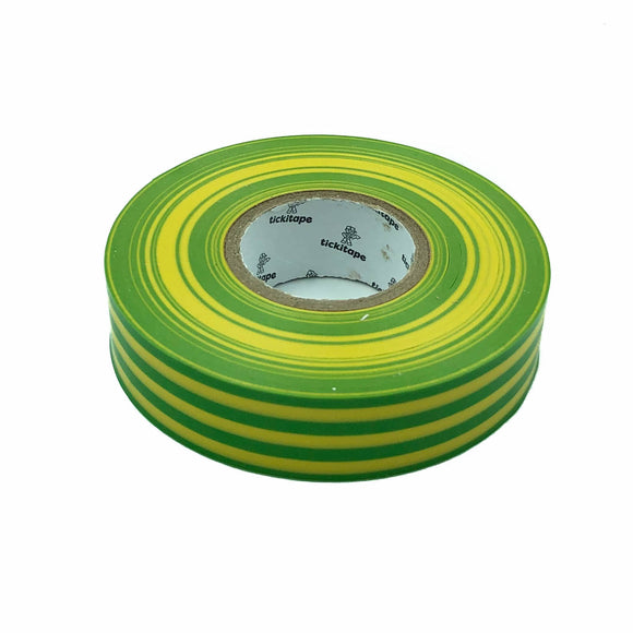 PVC Insulation Tape (33 Meters) - Green/Yellow