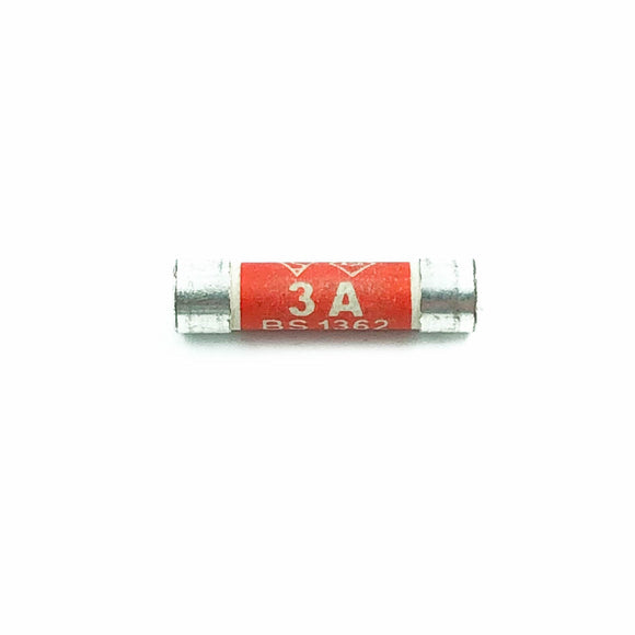 3A BS 1362 Plug Top Fuse (Pack of 10)