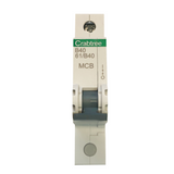 Crabtree Starbreaker 40A B Type Single Pole MCB (61/B40)