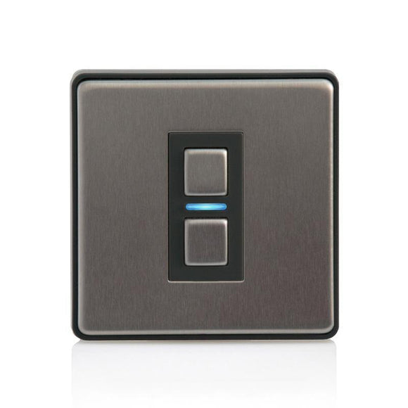 LightwaveRF 1G Smart Dimmer - Stainless Steel (Smart Series)