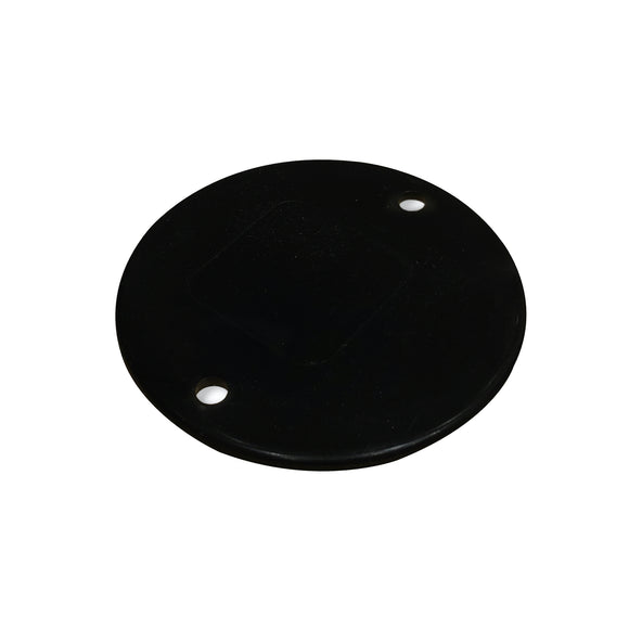 20/25mm PVC Conduit Box Lid - Black (LIDB)
