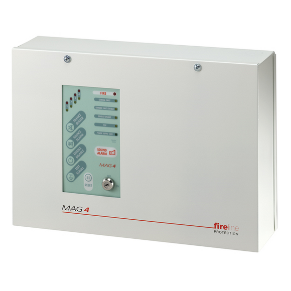 ESP 4 Zone Fire Panel - Metal Casing (MAG4)