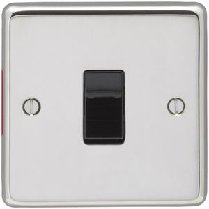 Eurolite Polished Stainless Steel 20AX DP Control Switch (PSS20ASWB) - BBEW