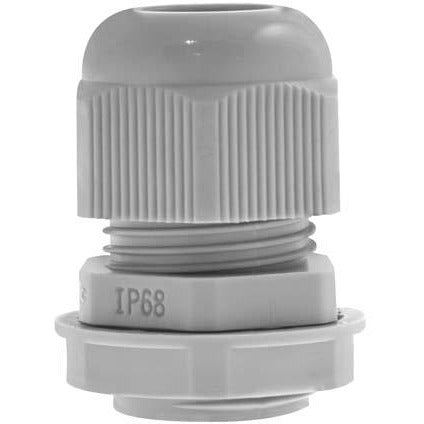 Unicrimp 20mm Plastic Cable Gland - Grey (PCG20G)