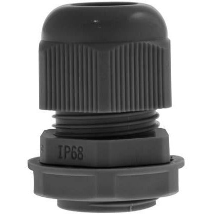 Unicrimp 20mm Plastic Cable Gland - Black (PCG20B)