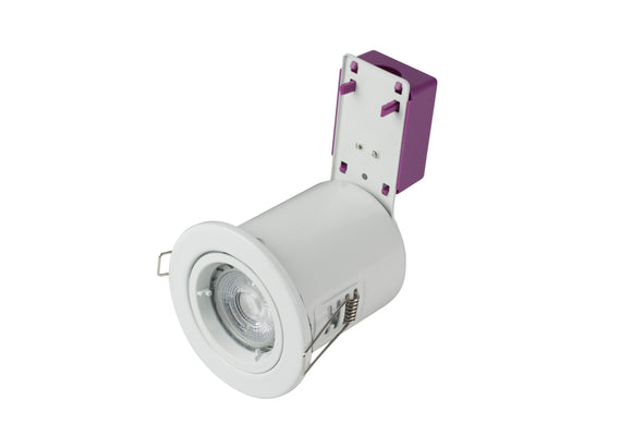 Starling Fire-rated IP20 Downlight 230V - White (ROBRFS201-01)