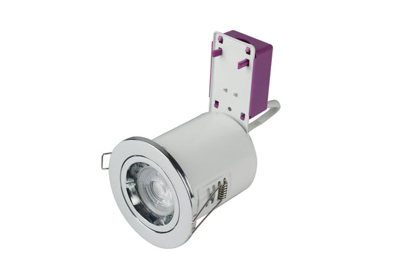 Starling Fire-rated IP20 Downlight 230V - Chrome (ROBRFS201-03)