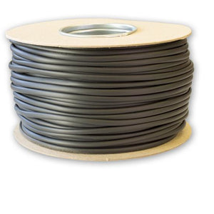 6.0mm Black PVC Sleeving - 100 Meters