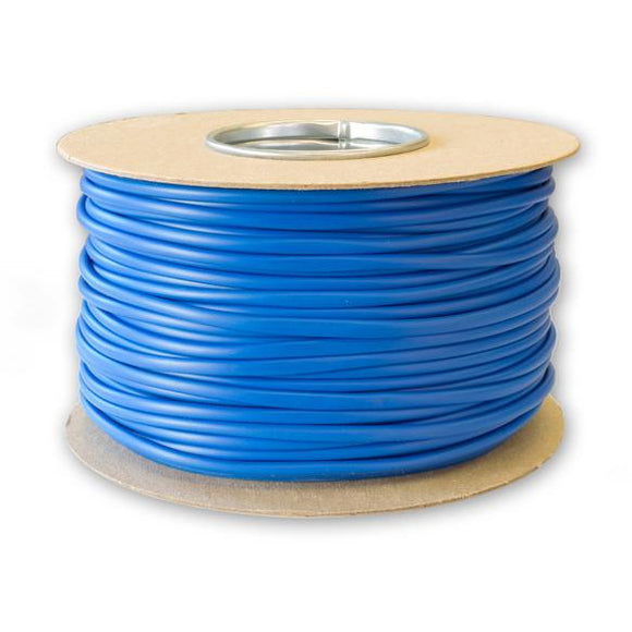 4.0mm Blue PVC Sleeving - 100 Meters
