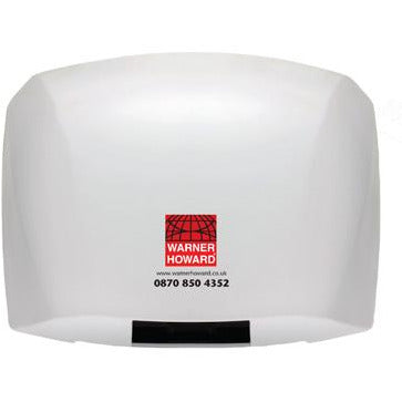 Warner Howard 1.8kW Automatic Hand Dryer - White (SM48)