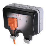 BG IP66 13A Switched Socket Outlet (WP22)