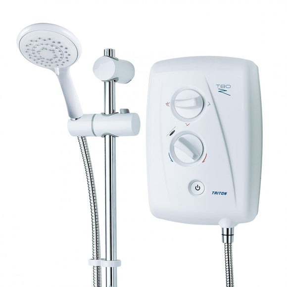 Triton T80Z Fast-Fit Shower 7.5kW/8.5kW/9.5kW/10.5kW - BBEW
