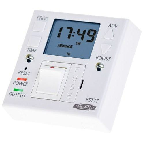 Timeguard 7 Day Fused Spur Timeswitch (FST77) - BBEW