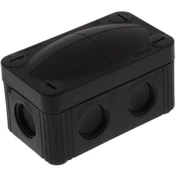 Wiska COMBI® 206 BK Junction Box