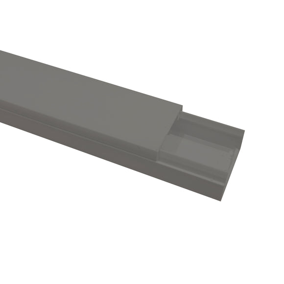 Self Adhesive Mini Trunking 16mm x 25mm x 3m - Grey (MT2GREY)