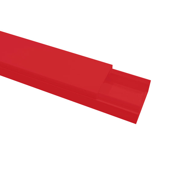 Self Adhesive Mini Trunking 16mm x 25mm x 3m - Red (MT2RED)